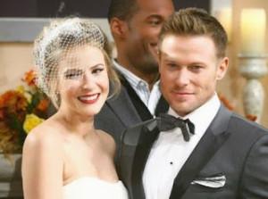 Rick e Caroline sposi