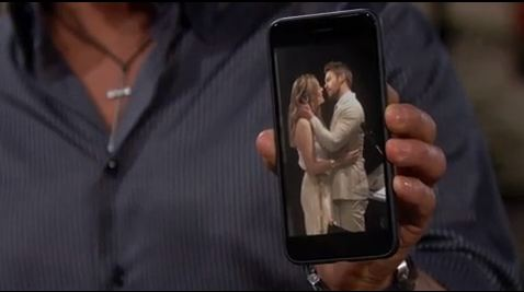 Bill mostra a Steffy un presunto bacio tra Hope e Liam