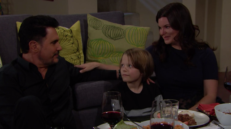 the bold and the Beautiful - Katie, Will e Bill